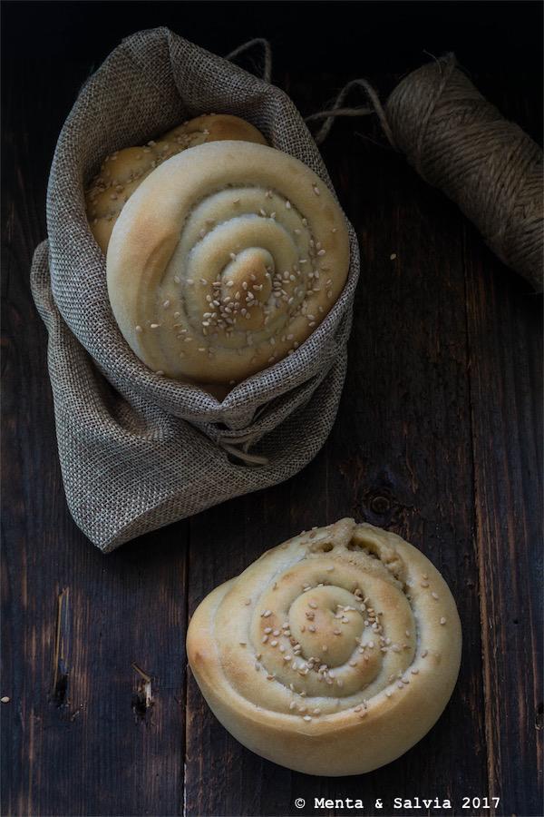 Tahini bread per recipe-tionist