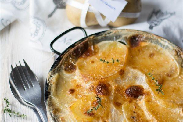 Gratin di patate al latte per #nonsibaratta